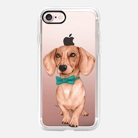 Dachshund, the wiener dog iPhone 7 Case by Barruf | Casetify