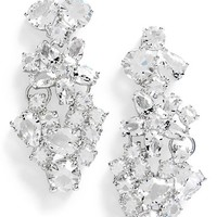kate spade new york 'boathouse' crystal drop earrings | Nordstrom