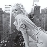 Marilyn Monroe - Balcony Movie Poster