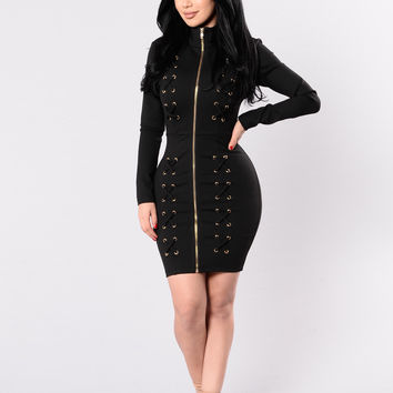 Kryptonite Dress - Black