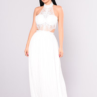 Andromeda Dress - White