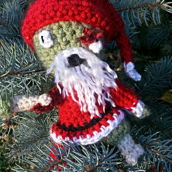 Zombie Santa Claus - PATTERN ONLY!!!! - Crochet Pattern