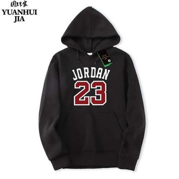 2018 Brand New Classic Fashion JORDAN 23 Men Sportswear Print Men Hoodies Pullover Hip Hop Mens tracksuit Sweatshirts Clothing