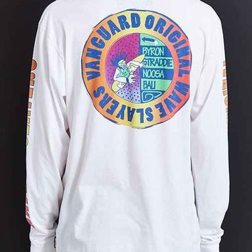 Vanguard Wave Slayer Long-Sleeve Tee- White