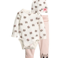 3-piece Jersey Set - from H&M
