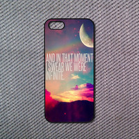 We Were Infinity iPhone 5C case iPhone 5S case iPhone 5 case iPhone 4/4S case Blackberry Z10 case Blackberry Q10 case Htc one m8 case
