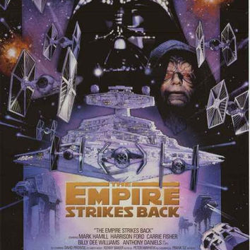 Star Wars Empire Strikes Back Poster 22x34