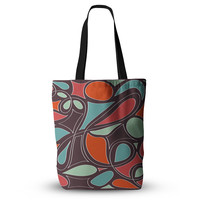"Miranda Mol ""Retro Swirl"" Everything Tote Bag"