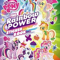 The Rainbow Power Sticker Book (My Little Pony)