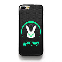 Best Overwatch Dva Logo Nerf Fit Hard Case For iPhone X 6 6s 7 8 Plus Cover +