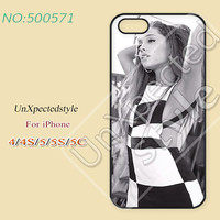 Ariana grande Phone Cases, iPhone 5/5S Case, iPhone 5C Case, iPhone 4/4S Case, Phone covers, ariana grande, Skins, Case for iPhone-500571