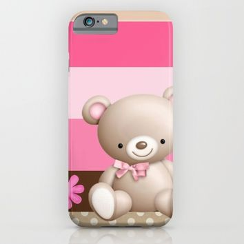 Teddy iPhone & iPod Case by Dkskustomgear