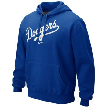 L.A. Dodgers Nike Classic Pullover Hoodie – Royal Blue
