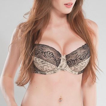 Women's Full Cup Push Up Lace Bras Large Size BH Plus Size Bra 34E 36D 36E 38D 38E 40D 40DD 42D 44D 46D 46E 48D 48E 50D 50DD Z4