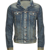 Aeropostale Mens Medium Wash Denim Jacket - Blue,