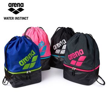 Arena New Arrival Light Weight Swimming Backpack Dry & Wet Sperate Swim Bag Drawstring Bag 4 colors for Chosen