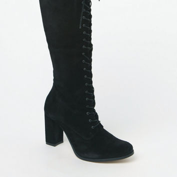 Matisse Princely Lace-Up Knee-High Boots at PacSun.com