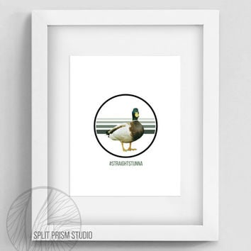 Original Art Print, Download, Print, Art, Digital File, Wall Art, Birds, Funny, Humor, Graphic Print, Instant Download, Joke, Graphic Design