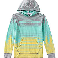 First Wave 8-20 Striped Hoodie - Mint