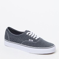 Vans Authentic Tapestry Shoes - Mens Shoes - Blue/White