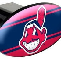 MLB Cleveland Indians Trailer Hitch Cover