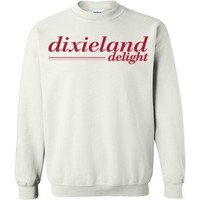 Official NCAA Venley University of Alabama Crimson Tide UA ROLL TIDE! Dixieland Delight Basic Crewneck Sweatshirt