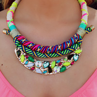 Neon Lights Necklace