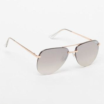 LMFONDI5 Quay The Playa Aviator Sunglasses
