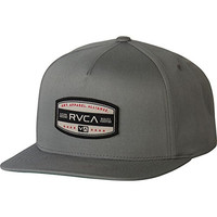 RVCA Men's Centers Five Panel Hat, Grey, One Size