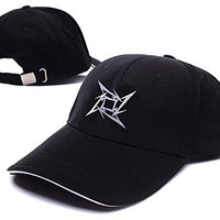 Metallica Star Logo Adjustable Baseball Caps Unisex Snapback Embroidery Hats