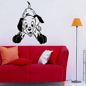 Wall Decor Vinyl Decal Sticker Mural Nice Little Dalmatian baby room S1291