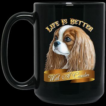 Cavalier King Charles Spaniel Blenheim Coffee Mug