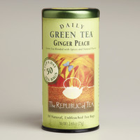 The Republic of Tea Ginger Peach Tea, 50-Count - World Market