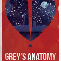Grey's Love, Lust, and Medicine Poster Art Print by Trever