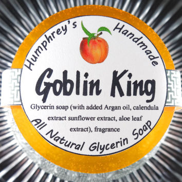 GOBLIN KING Soap | Peach Scent | Fresh Georgia Peaches