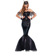Dark Water Siren Mermaid Gown
