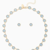 Out of the Blue Station Necklace Set | Charming Charlie