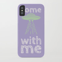 come with me iPhone Case by alvestegui