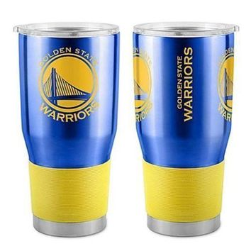 Golden State Warriors 30 oz. Stainless Steel Insulated Ultra Travel Tumbler