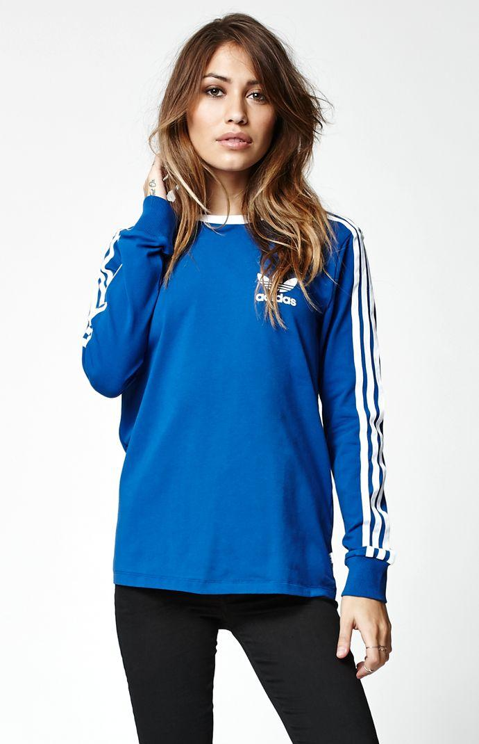 adidas long sleeve t shirt womens