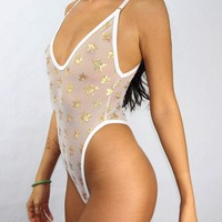 """BELLADONNA"" Star Bodysuit"