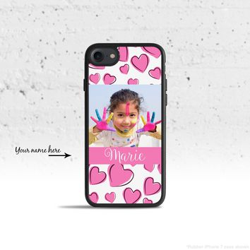 Personalized Hearts Name Case Cover for Apple iPhone iPod Sam. 264f9b96821e