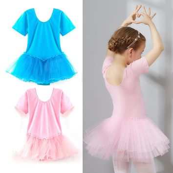 2017 New Girls Kids Baby Ballet Dance Dress Candy Color Tutu Dress Dance Clothing Ballet Leotard Stage Dancewear Baby Costumes