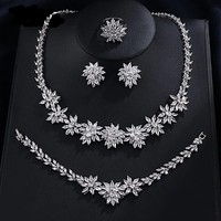 Wedding Jewelry Sets Flower