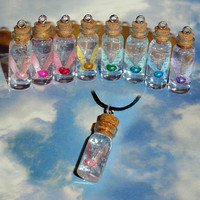 Legend of Zelda - Fairy in a Bottle Charm Necklace