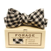 forage — black & white {bow tie}