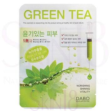 DABO First Solution Green Tea Mask Sheet Pack