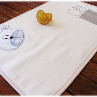 Placemat Embroidered for kids boy