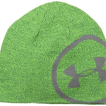 Under Armour Billboard Beanie, Gecko Green, One Size fits All