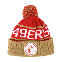 Mitchell & Ness San Francisco 49ers High 5 Beanie - Zappos.com Free Shipping BOTH Ways